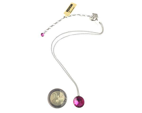 Konplott Rivoli fuchsia Halskette mit Anhänger, pink 5450527612913