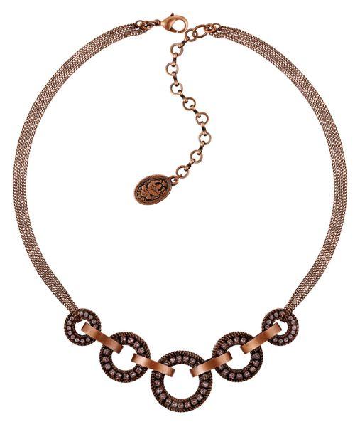Konplott Rock 'n' Glam Halskette in lila light amethyst - Widerrufsware, wie neu 5450543776811