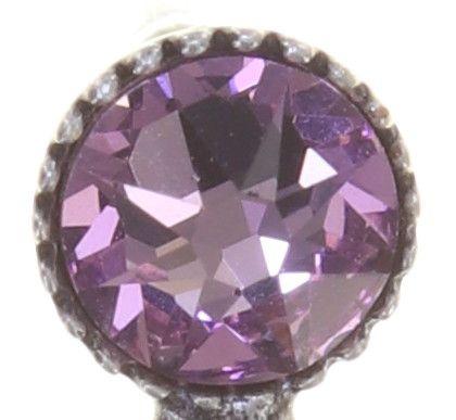 Konplott Pearl Shadow Ohrstecker in pink light amethyst 5450543810935