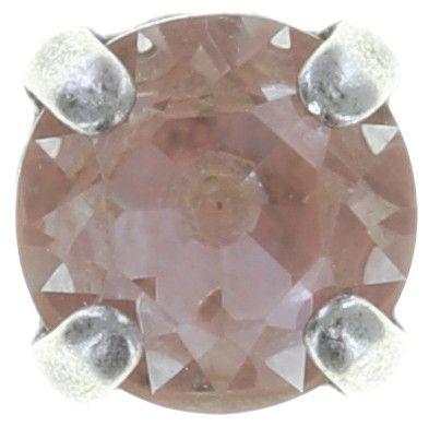Konplott Black Jack Ohrstecker in beige/pink Silberfarben 5450543750194