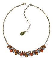 Konplott Water Cascade Halskette in Amber 5450543938448