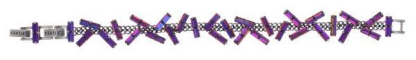 Konplott Jumping Baguette Armband Fire Violet 5450543862200