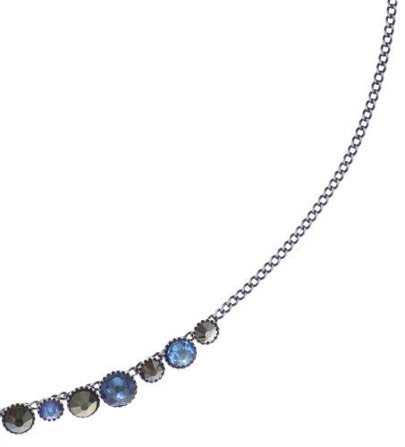 Konplott Water Cascade steinbesetzte Halskette in blau/braun 5450543772912