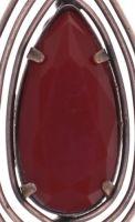 Vorschau: Konplott Amazonia Halskette mit Anhänger in rot, Größe S 5450543760810