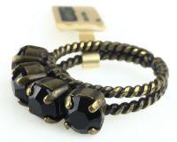 Vorschau: Konplott Colour Snake Ring in Jet, schwarz 5450527122283