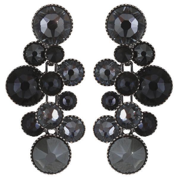 Konplott Water Cascade Ohrhänger in schwarz 5450543766591