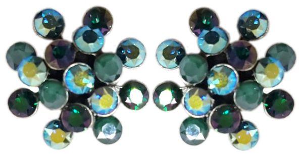 Konplott Magic Fireball Ohrstecker Emerald On Fire in mini 5450543936772