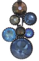 Vorschau: Konplott Water Cascade Halskette mit Anhänger in blau/braun 5450543753874