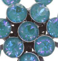 Vorschau: Konplott Magic Fireball Ohrstecker in water turquoise crystal laguna de lite 5450543852645
