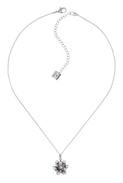 Konplott Alien Caviar Halskette Crystal Clear in weiß 5450543895437