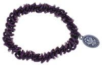 Vorschau: Konplott Bead Snakes elastisches Armband in Dark-Lila 5450543788029