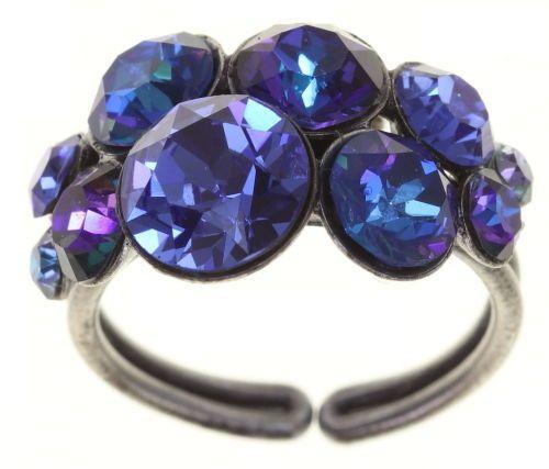 Konplott Petit Glamour Ring Blue Bayou 5450543880389