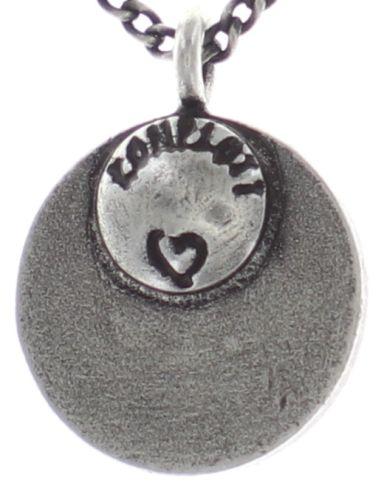 Konplott Spell on You Halskette mit Anhänger in lila Silberfarben 5450543735344