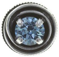 Vorschau: Konplott Cages Ohrstecker in blau Silberfarben 5450527646680
