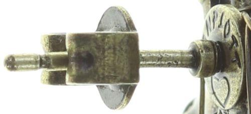Konplott Psychodahlia Ohrstecker in gelb Messing 5450543734033