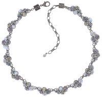 Vorschau: Konplott Petit Glamour steinbesetzte Halskette in weiß 5450543760209