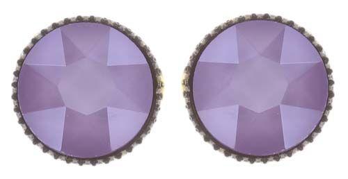 Black Jack Ohrstecker klassisch groß in lila crystal