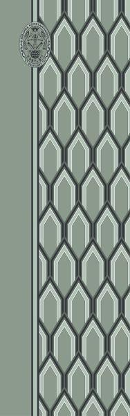 Konplott Schal Geometrisch 21 in grün 5450543807188