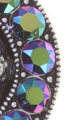 Konplott Simply Beautiful Halskette mit Anhänger in grün 5450543779959