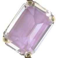 Vorschau: Konplott Mix the Rocks Y-Halskette in rosa crystal blush 5450543790312