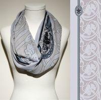 Vorschau: Konplott Schal Floral 1 in hellblau 5450543806785
