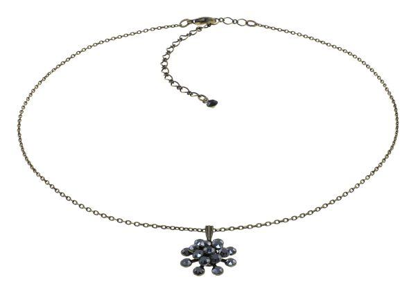 Konplott Magic Fireball Halskette in black jet hematite mini 5450543914800