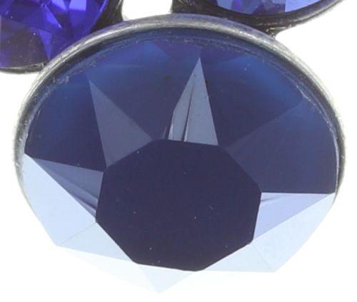 Konplott Petit Glamour Ohrstecker hängend in dunkel blau 5450543727295