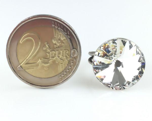 Konplott Rivoli crystal weißer Ring groß 5450527558280