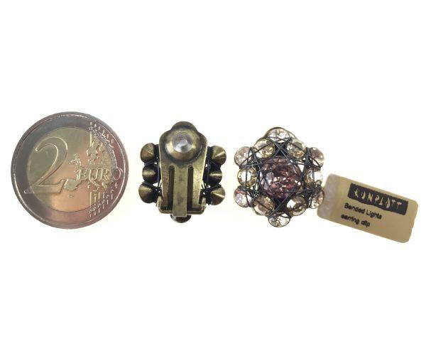 Konplott Bended Lights Ohrclip in beige/vintage rose 5450527759144