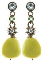 Konplott Tropical Candy Ohrring - Gelb mit Grünstich 5450543811819