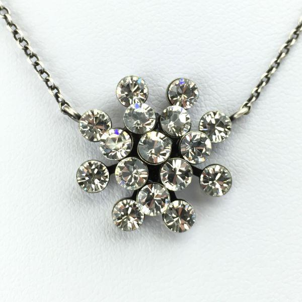 Magic Fireball Halskette mit Anhänger in crystal