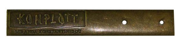 Konplott Konplott Metallhalterung für Ohrringe Display lang 5450527600019