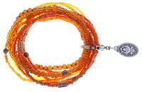 Konplott Petit Glamour d'Afrique Armband in orange antique 5450543865164