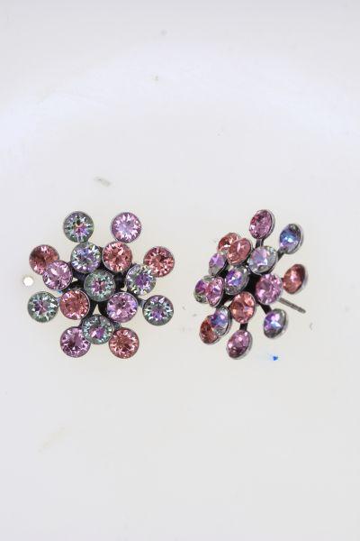Konplott Magic Fireball Ohrstecker in pink/lila Classic Size 5450543904832