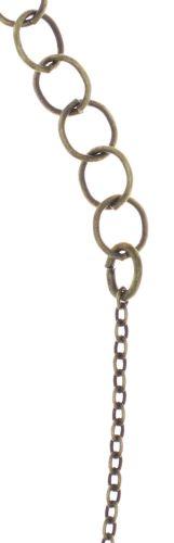 Konplott Dancing Star Halskette mit Anhänger in blau Größe L 5450543773940