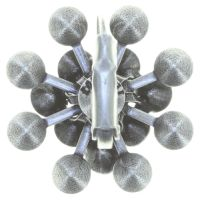 Vorschau: Konplott Magic Fireball Ohrhänger in schwarz 5450543765792