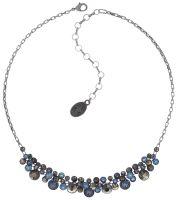 Konplott Water Cascade steinbesetzte Halskette in blau/braun 5450543753850