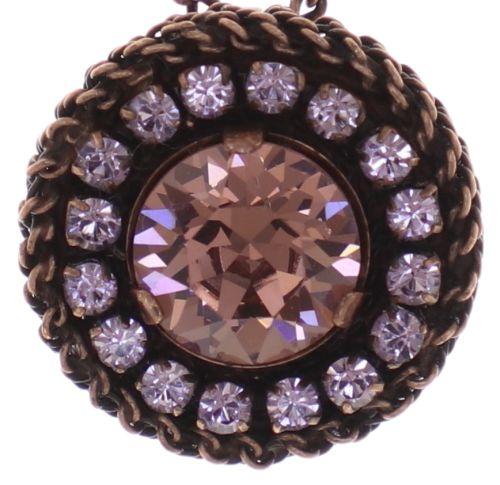 Konplott Rock 'n' Glam Halskette mit Anhänger in lila light amethyst 5450543776903