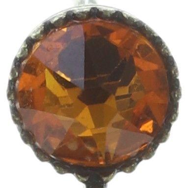 Konplott Colour Ring Ohrstecker hängend in multi tangerine 5450543749242