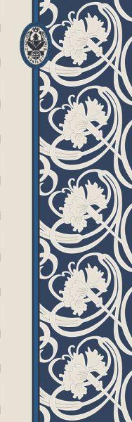 Konplott Schal Floral 11 in blau 5450543806983