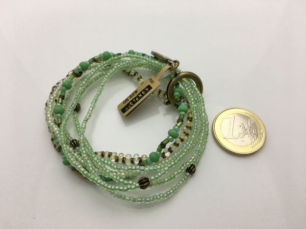 Konplott Petit Glamour d'Afrique Armband in grün 5450543786315