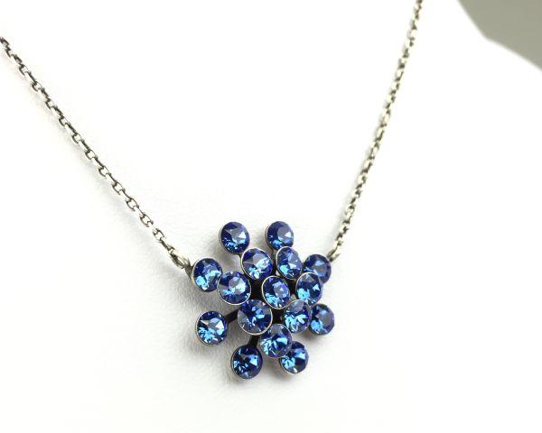 Konplott Magic Fireball Halskette mit Anhänger in sapphire 5450527611695