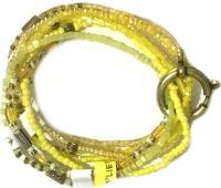 Vorschau: Konplott Petit Glamour d'Afrique Armband in gelb 5450543786247