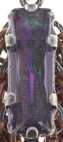 Konplott Global Glam Ohrringe hängend in copper blau 5450543791371