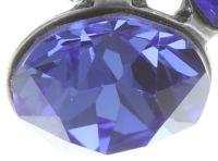 Vorschau: Konplott Disco Star Ohrstecker in dunkel blau 5450543727325