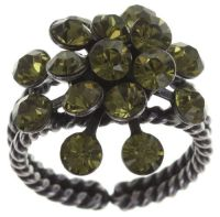 Vorschau: Konplott Magic Fireball 16 Stein Ring in khaki 5450527640312