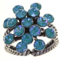 Vorschau: Konplott Magic Fireball Ring in water turquoise crystal laguna de lite 5450543852652