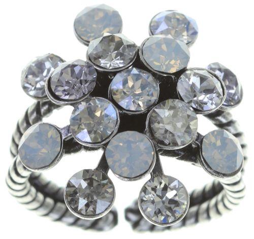 Konplott Magic Fireball Ring in weiß 5450543754628