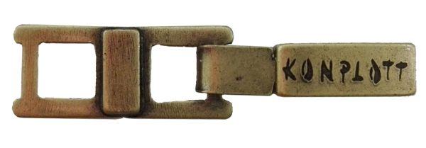 Konplott Armband Verlängerung klein in Messing 5450527800488