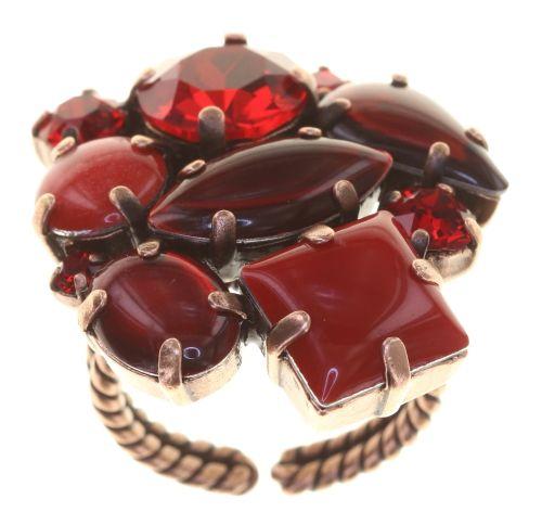 Konplott Afternoon Tea Ring Blood Red 5450543884608